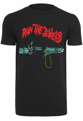 Tricou Run The Jewels Logo negru Merchcode