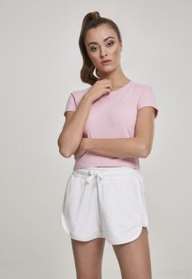 Tricou scurt Stretch Jersey pentru Femei barbie-roz Urban Classics