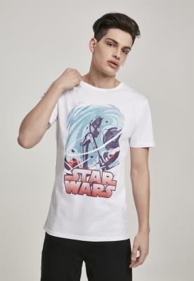 Tricou Star Wars Hot Swirl alb Merchcode