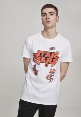 Tricou Star Wars Patches alb Merchcode