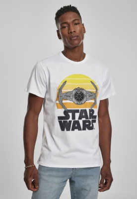Tricou Star Wars Sunset alb Merchcode
