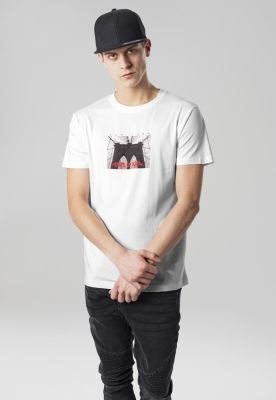 Tricou State Of Mind alb Mister Tee