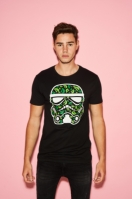 Tricou Stormtrooper Leaves negru Merchcode