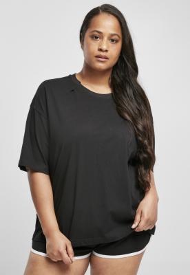 Tricou supradimensionat organic pentru Femei negru Urban Classics