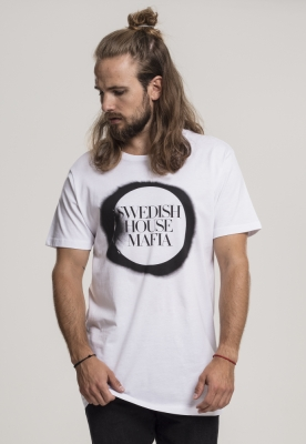 Tricou Swedish House Mafia Logo alb Merchcode
