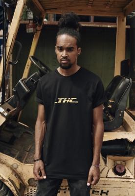 Tricou THC negru Mister Tee