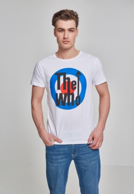 Tricou The Who clasic Target alb Merchcode