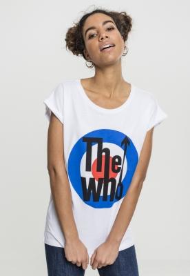 Tricou The Who clasic Target pentru Femei alb