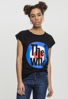 Tricou The Who clasic Target pentru Femei negru