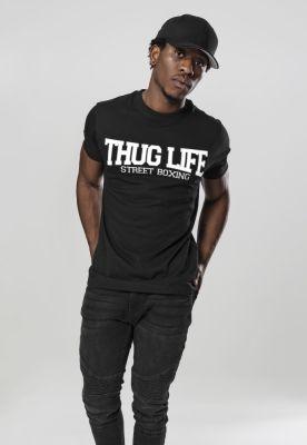 Tricou Thug Life Street Boxing negru