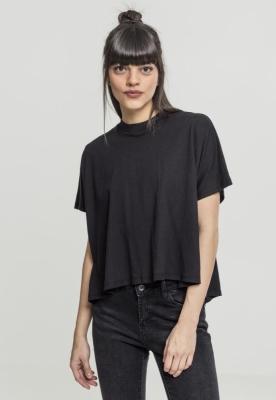 Tricou tip helanca pentru Femei negru Urban Classics