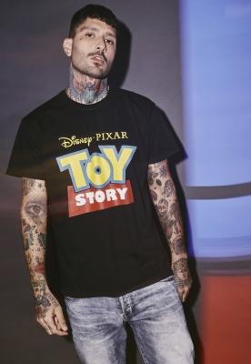 Tricou Toy Story Logo negru Merchcode