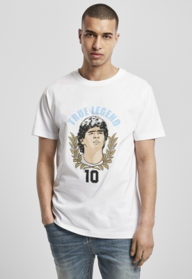 Tricou True Legends Number 10 alb Mister Tee