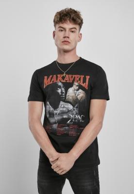 Tricou Tupac Makaveli negru Mister Tee
