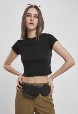 Tricou urban Cropped pentru Femei negru Urban Classics