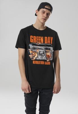 Tricou verde Day Radio negru Merchcode