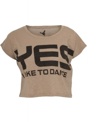 Tricouri cu mesaje pentru femei Dance