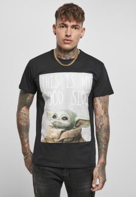 Tricou Yoda Good Side pentru Bebelusi negru Merchcode