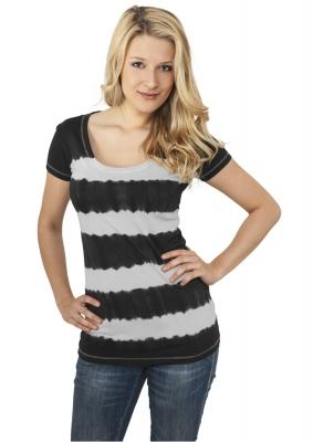 Tricou Dip Dye Stripe dama Urban Classics
