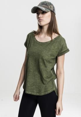 Tricouri lungi femei spray dye