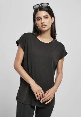 Tricouri maneca larga Modal pentru Femei negru Urban Classics