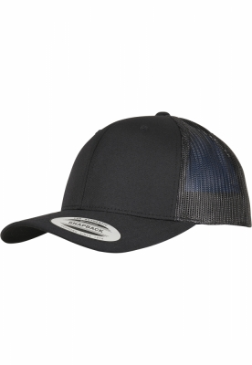 Sepci Trucker Recycled poliester Fabric negru Flexfit