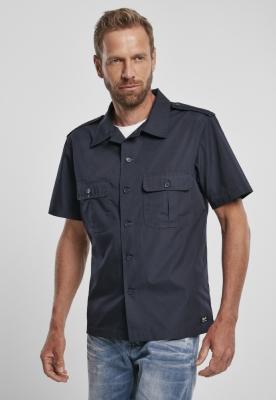 US Shirt Ripstop cu maneca scurta bleumarin Brandit