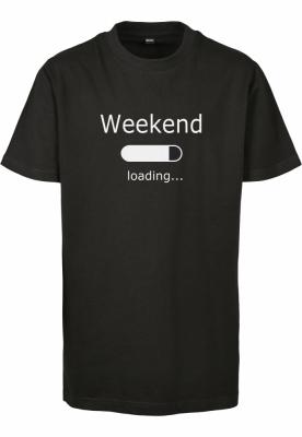 Weekend Loading 2.0 Tee pentru Copii negru Mister Tee