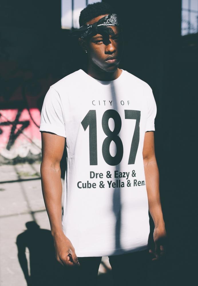 Tricouri Cu Mesaje Hip Hop 187