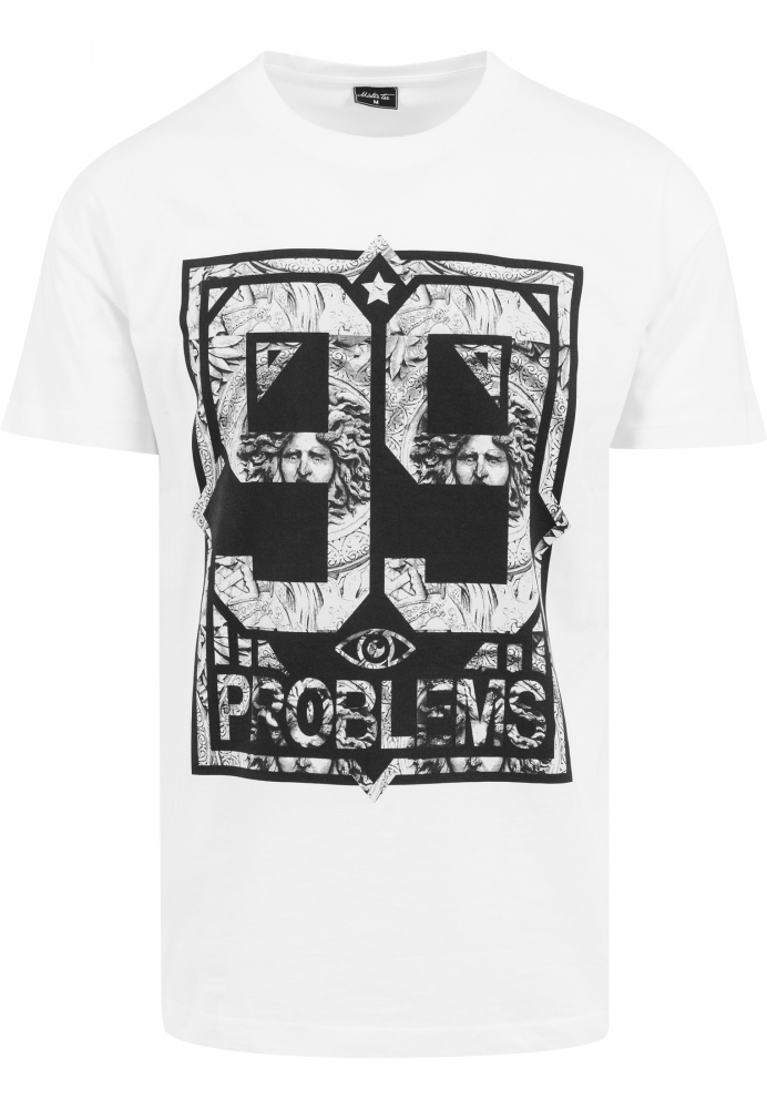 Tricouri Hip Hop 99 Problems Alb-marble Mister Tee