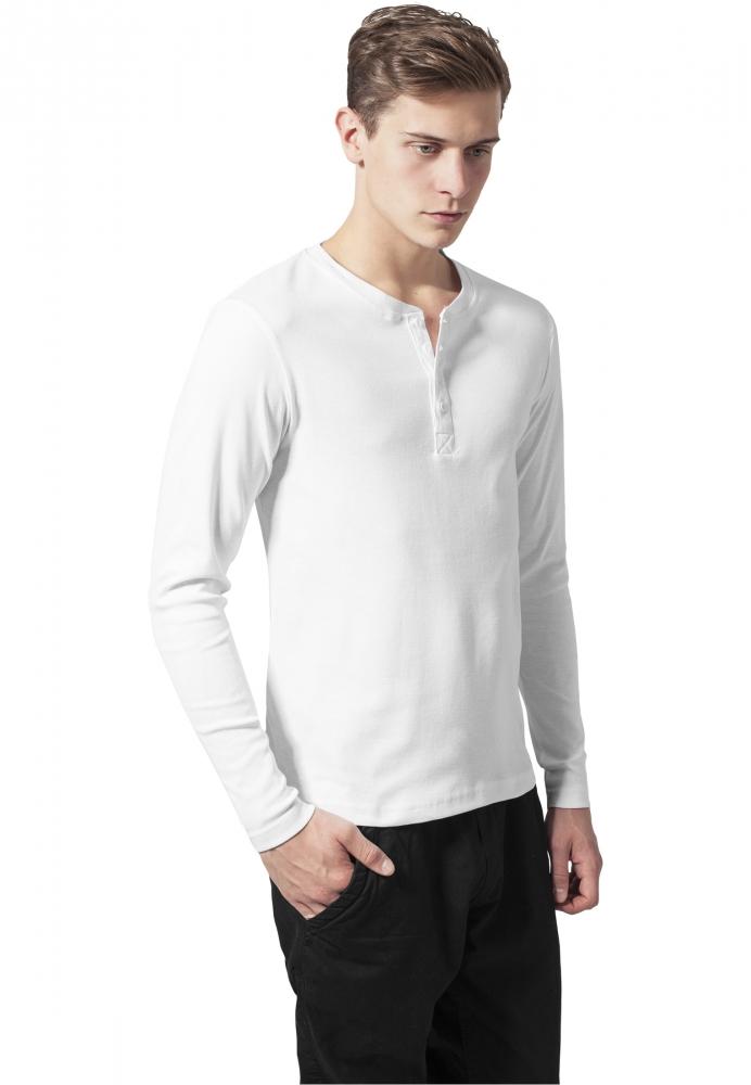 Bluze slim barbati white Urban Classics