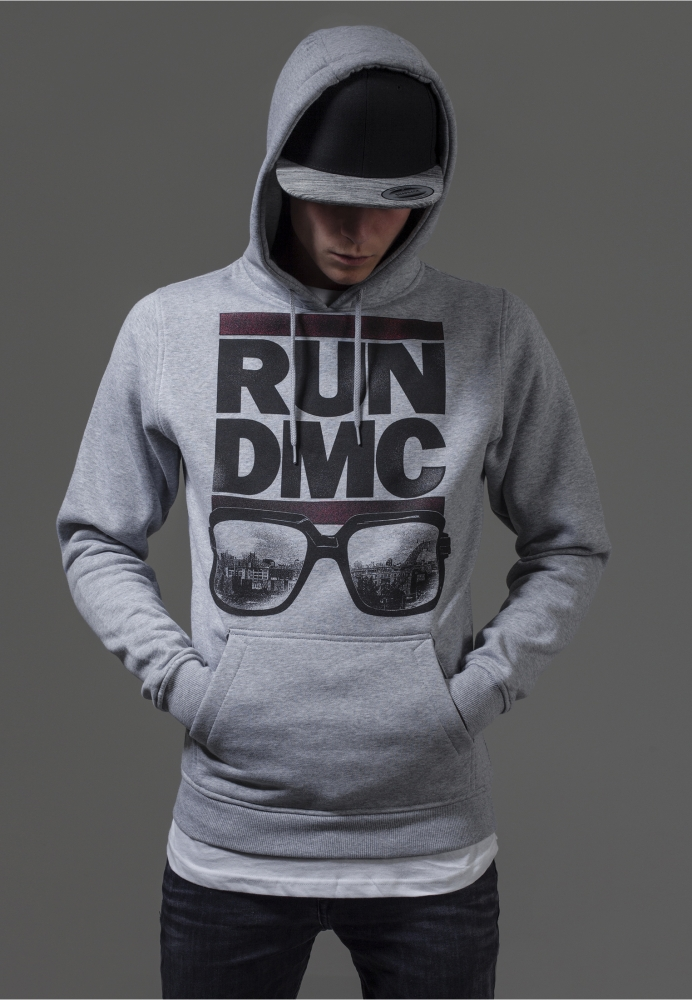 Hanorac Run Dmc City Glasses Deschis-gri Mister Tee