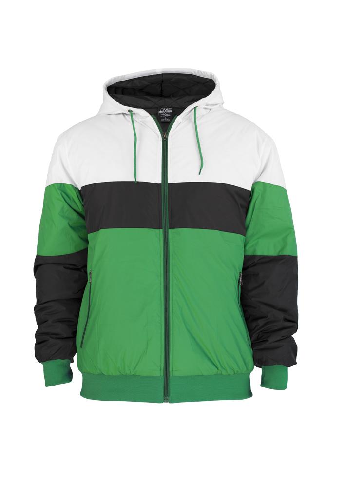 Geci Barbati Tricolor Verde-alb Urban Classics