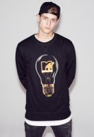 Mtv High Energy Crewneck Negru Mister Tee