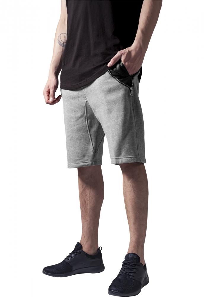 Pantalon Scurt Cu Buzunare Piele