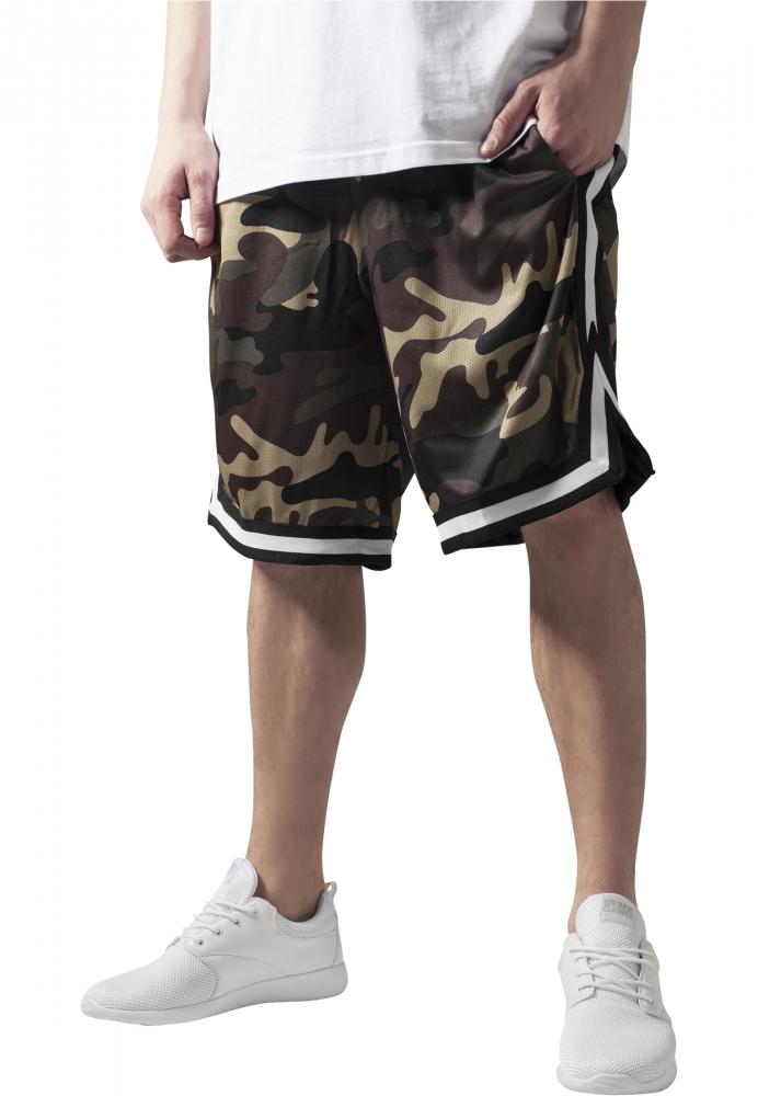 Pantaloni Barbati Camuflaj Scurti