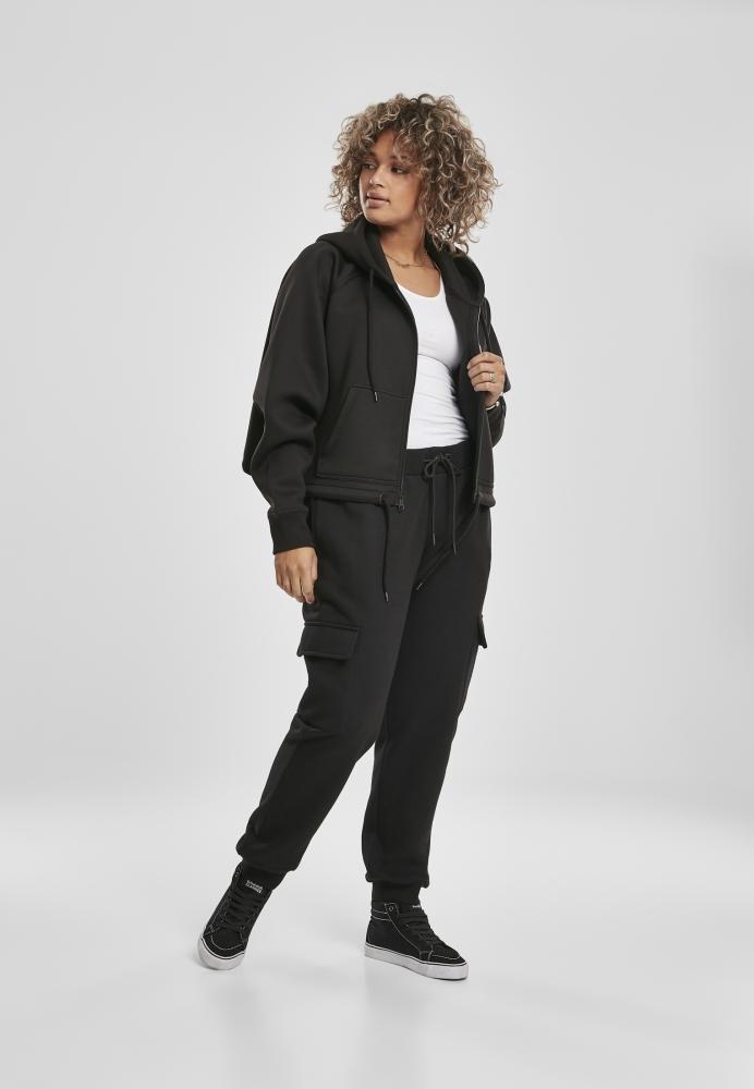 cel mai popular Modă magazin Pantaloni trening Cargo pentru Femei negru Urban Classics