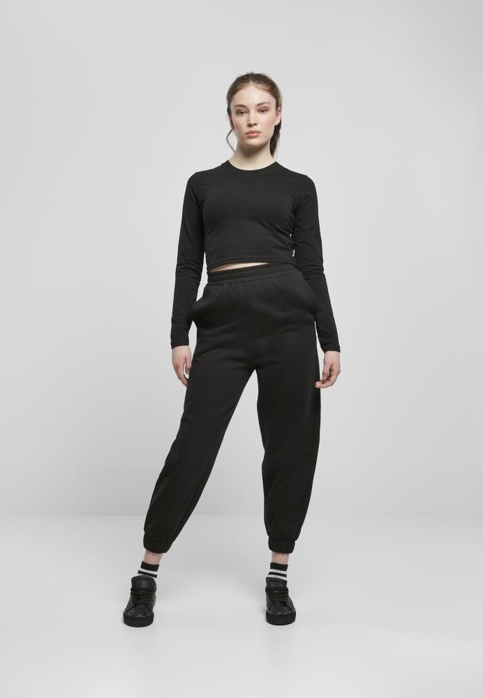Pantaloni Organic talie inalta Ballon Sweat dama Urban Classics