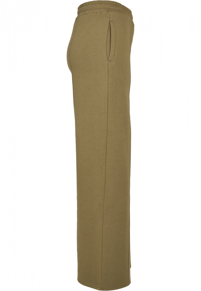 Pantaloni Straight Pin Tuck Sweat dama Urban Classics