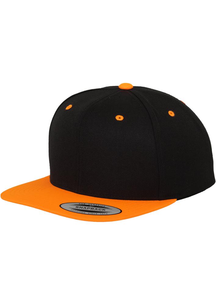 Sepci Rap Flexfit Snapback Negru-potocaliu Neon